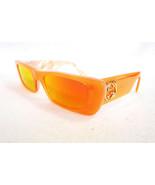 GUCCI Women's Sunglasses GG0516S 005 Neon Orange Pearl Rectangle MADE IN... - $299.95
