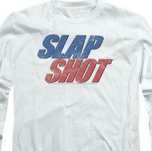 Slap Shot Retro 70s American comedy graphic t-shirt long sleeve UNI960 image 3