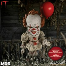 Mezco Jouets de Luxe Ça Pennywise Clown Horreur Film Scary Poupée Figuri... - $47.44