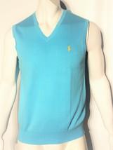 Polo Ralph Lauren mens pullover sweater vest size large image 1
