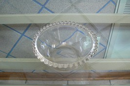 Vintage Imperial Candlewick Crystal Clear Sauce Bowl - $8.90