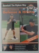 Baseball the Ripken Way: Defense & Hitting - $9.89