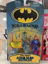 HASBRO VINTAGE DC WORLD OF BATMAN AQUA SLED BATMAN - $34.64