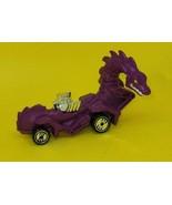 1987 PURPLE RODZILLA Rotating Head Dragon car Hot Wheels Mattel - $7.92
