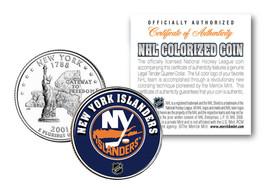 NEW YORK ISLANDERS NHL Hockey New York Statehood Quarter U.S. Coin * LIC... - $7.87