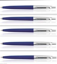 Parker Jotter Standard CT Set of 5 Ball Pen Ballpens Blue Color Brand New - $26.99