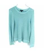 INC International Concepts Women's Sweater L Large Loose Knit Blue - $68.31