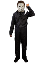 Trick Or Treat Halloween 18 Michael Myers Deluxe Tute Costume Bambini TT... - $57.69