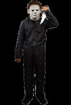 Trick Or Treat Halloween 18 Michael Myers Deluxe Tute Costume Bambini TT... - $57.69
