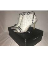 "New BCBG Maxarzia ""Joao"" black strappy heels size 7.5 Gorgeous - $49.50"