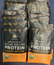 12 Packets Ancient Nutrition Organic Bone Broth Protein Peanut Butter 08/20 - $16.83