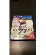 Madden NFL 15 PS4 Ultimate Edition PlayStation 4 - $4.95