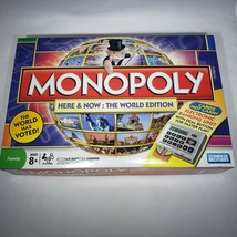 Monopoly Here & Now World Edition Electronic Banking New Open Box Sealed... - $75.95