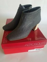 Aerosoles Women's Head North Ankle Boot, Grey Fabric, 6 M US - $99.00