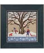 Winter Oak 2017 Quartet Mighty Oak tree series cross stitch kit  Mill Hill - $15.30