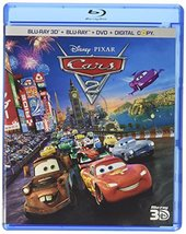 Disney Pixar Cars 2 (Ultimate Collector's Edition Blu-ray 3D/Blu-ray/DVD)