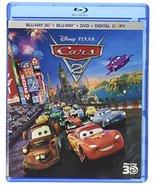 Disney Pixar Cars 2 (Ultimate Collector's Edition Blu-ray 3D/Blu-ray/DVD) - $12.95