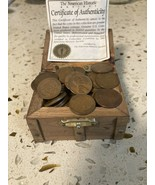 Wheat Penney Treasure Chest Lot 50 pennies - $21.29