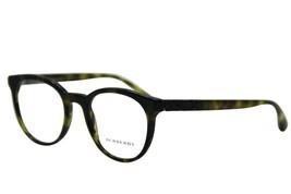 Burberry B 2250 3280 Green Havana Eyeglasses Authentic Frames Rx B2250 49-20 - $76.67