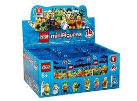 Scellé LEGO 8684 boîte / Boîte de 60 mini figurines SÉRIES 2 - $766.38