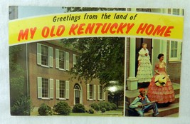 Souvenir Postcard Uncirculated My Old Kentucky Home State Shrine Vintage - $19.37