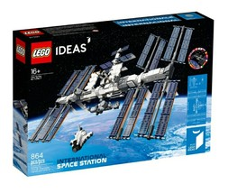 *NEW* LEGO Ideas 21321 International Space Station ISS - FIRST CLASS SHI... - $113.05