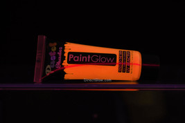 PaintGlow .44oz Pastel Peach Blacklight Reactive Face and Body Paint - $5.95