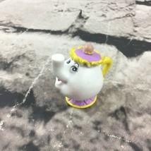 Disney Beauty And The Beast Mrs Potts Tea Pot Figure PVC Cake Topper Toy - $7.91