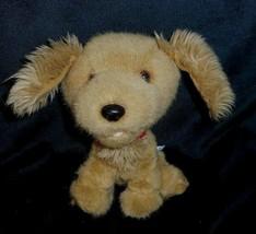 Construction bear smallfrys baby fawn brown puppy dog plush animal babw - $9.50