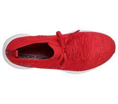 Skechers Red shoes Memory Foam Women Slip On Comfort Casual Athletic train 13024 image 5