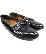 Cole Haan Tassel Kilt Mens Loafer Shoes Black Leather Size 12 B - $16.66