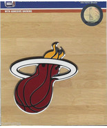 MIAMI HEAT NBA BASKETBALL COLOR AUTO CAR EMBLEM USA MADE  LOGO CHROME - $27.07