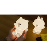 LINE FRIENDS Character HUG ME LED Touch Lamp 2 Types BROWN CONY Official... - $58.99
