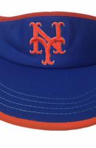 Vintage New York Mets Blue Hat Visor Snapback Adult Adjustable MLB Unive... - $37.86