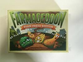Farmageddon Farm Fresh Edition Card Game Pristine Condition Hyperbole! - $20.00