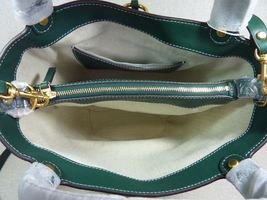 NWT Tory Burch Malachite Green Miller Bucket Tote image 8
