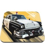 sheriff patrol car ford fairlane police mouse pad made in usa - $18.99
