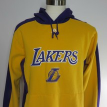 Adidas M Purple Gold LA Lakers Hoodie Sweatshirt - $39.55