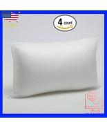 "Foamily 4 Pack - 12"" x 20"" Premium Hypoallergenic Lumbar Stuffer Pillow ... - $42.77"