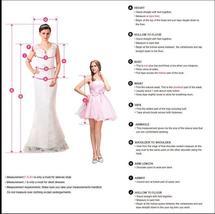 Deluxe Off Shoulder Princess A Line Satin High Split Wedding Dress image 4
