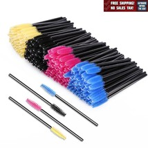 200 Pack Disposable Eyelash Brushes Wands Mascara Cosmetic Makeup Tool K... - ₨682.82 INR