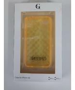 Greene & Gray Diamond Cut phone case  iphone 4S  Yellow   MSRP $28 - $0.99