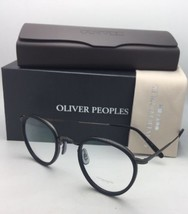 New OLIVER PEOPLES Eyeglasses MP-2 OV 1104 5244 48-24 Matte Black-Gunmetal Frame - $419.95