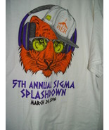 Pier 5Th Annual Sigma Splashdown March 26 2016 T-Shirt Size Large - $16.00