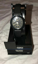 New Womens Casio Water Resistant Analog Watch CAS69 Black - $10.00