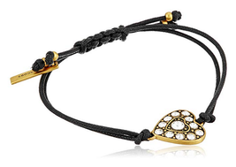 Marc by Marc Jacobs Marc Jacobs Charms Crystal Heart Friendship Bracelet - $39.59