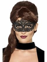 Embroidered Lace Filigree Eyemask, Eyemasks, Fancy Dress - $5.12