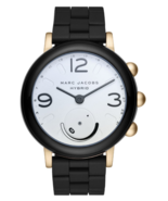 Marc Jacobs Riley Aluminum and Silicone Hybrid Smartwatch MJT1005, Color... - $115.00