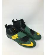 Nike Lunarbeast Strike Pro Mid 3/4 TD Mens Green 16 Football Cleats FREE... - $11.98