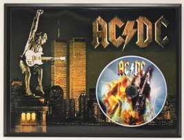 Ac/Dc Limited Edition Picture Disc CD Rare Collectible Music Display - $56.95